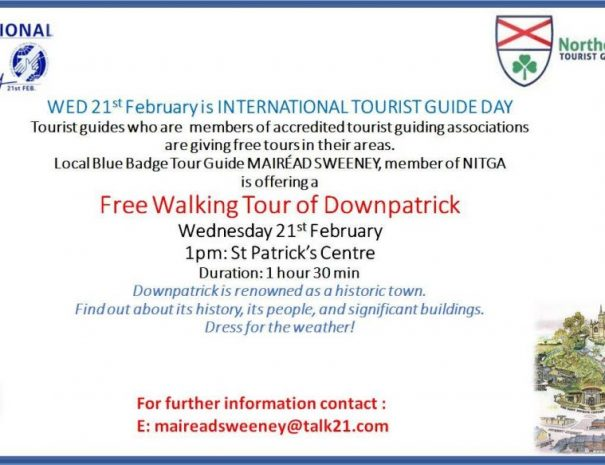 image of international tourist guide day